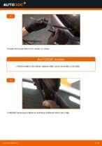 Kā nomainīt aizmugurējās stikla tīrīšanas slotiņas automašīnai Opel Zafira B A05