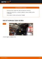 Kā nomainīt Opel Zafira B A05 bagāžnieka vāka amortizatorus
