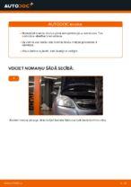 Kā nomainīt bremžu klučus priekšējām disku bremzēm Opel Zafira B A05