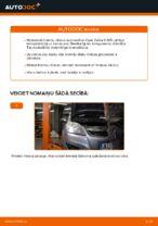Kā nomainīt Opel Zafira B A05 aizmugurējos bremžu diskus