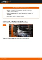 Automechanikų rekomendacijos OPEL Zafira b a05 1.8 (M75) Oro filtras, keleivio vieta keitimui