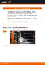 Cum înlocuim discurile de frână față pe Opel Zafira B A05