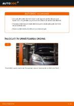 Cum se înlocuiesc plăcuțele din față ale frânei cu disc Opel Zafira B A05