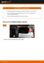 Cum se înlocuiesc amortizoarele suspensiei din spate a autovehiculului Toyota Auris E15