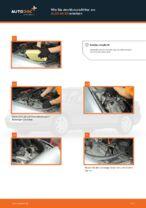 Wie Sie den Motorluftfilter am AUDI A4 В5 ersetzen