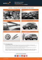 Wie Wischerblätter VW LUPO tauschen und einstellen: PDF-Tutorial