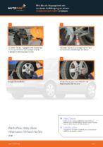 Wie Bremssattel Reparatursatz beim VW LUPO (6X1, 6E1) wechseln - Handbuch online