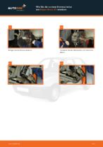 NISSAN MICRA II (K11) Querlenker wechseln vorne unten hinten ( links + rechts ) Anleitung pdf