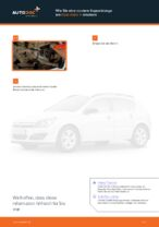 Koppelstange wechseln OPEL ASTRA: Werkstatthandbuch