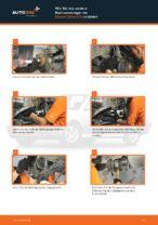 Skoda Octavia 1z3 Hauptscheinwerfer Glühlampe wechseln Anleitung pdf