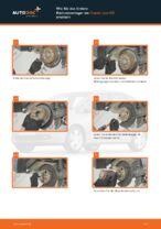 HONDA JAZZ II (GD) Lagerung Radlagergehäuse wechseln Anleitung pdf