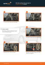 Wie Bremshalter hinten links rechts beim HONDA JAZZ II (GD) wechseln - Handbuch online