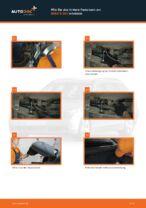 Wie Stoßdämpferlager hinten und vorne beim BMW 5 (E60) wechseln - Handbuch online