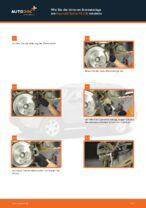 Wann Bremsklötze wechseln: PDF Handbuch für HYUNDAI SANTA FÉ II (CM)