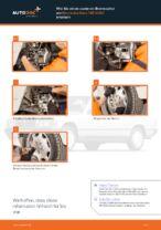 PEUGEOT BIPPER Koppelstange wechseln vorne links Anleitung pdf