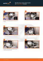 Schritt-für-Schritt-PDF-Tutorial zum Kühlmitteltemperatursensor-Austausch beim Peugeot 307 SW