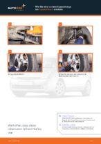 Montage Stabilisator Koppelstange TOYOTA PRIUS Hatchback (NHW20_) - Schritt für Schritt Anleitung