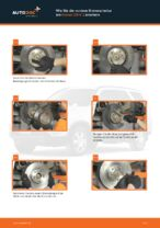 Montage Scheibenbremsen HONDA CR-V II (RD_) - Schritt für Schritt Anleitung