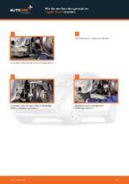 Spurstangenkopf wechseln TOYOTA PRIUS: Werkstatthandbuch