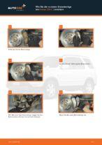 Honda Civic IX Bremsbeläge wechseln vorderachse und hinterachse Anleitung pdf
