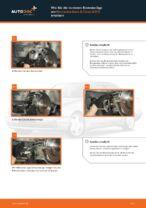 Wie Bremssattel Reparatursatz beim MERCEDES-BENZ E-CLASS (W210) wechseln - Handbuch online