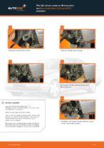 Wie Bremszange MERCEDES-BENZ E-CLASS tauschen und einstellen: PDF-Tutorial