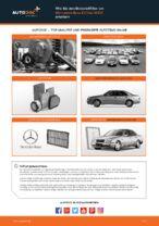 Auswechseln Motorluftfilter MERCEDES-BENZ E-CLASS: PDF kostenlos