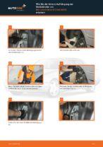 Stoßdämpfer wechseln MERCEDES-BENZ E-CLASS: Werkstatthandbuch