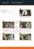 Wie Achslager PEUGEOT 406 tauschen und einstellen: PDF-Tutorial