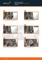 Wie Halter, Stabilisatorlagerung beim Renault Megane 2 Cabrio wechseln - Handbuch online