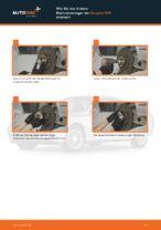 Peugeot 307 cc 3b Bremsbacken für Trommelbremse: Online-Handbuch zum Selbstwechsel