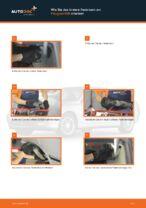 Verschleißanzeige Bremsbeläge wechseln PEUGEOT 406: Werkstatthandbuch