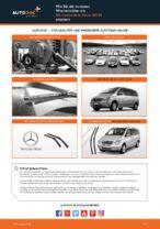 Tipps von Automechanikern zum Wechsel von MERCEDES-BENZ Mercedes Viano W639 CDI 3.0 (639.811, 639.813, 639.815) Spurstangenkopf