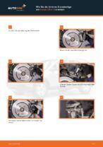 Wie Bremsbackensatz für Trommelbremse hinten und vorne beim HONDA CR-V III (RE) wechseln - Handbuch online