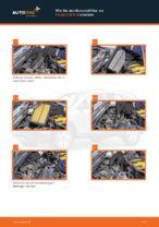 Auswechseln Motorluftfilter HONDA CR-V: PDF kostenlos