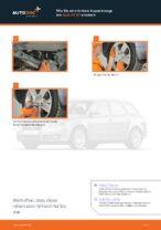 Wie Sie eine hintere Koppelstange am Audi A4 В7 ersetzen