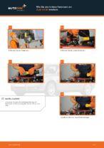 Wie Benzinfilter Diesel + Benzin beim AUDI A4 Avant (8ED, B7) wechseln - Handbuch online