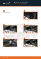 Tipps von Automechanikern zum Wechsel von MITSUBISHI MITSUBISHI COLT VI (Z3_A, Z2_A) 1.1 Spurstangenkopf