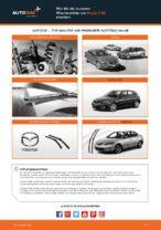 Schritt-für-Schritt-Anweisung zur Reparatur für Mazda 3 bm