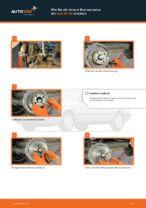 Auswechseln Bremsscheibe AUDI 80: PDF kostenlos