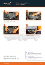 AUDI Luftfiltereinsatz Auto Ersatz wechseln - Online-Handbuch PDF