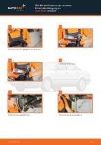 Ausführliche Auto-Reparaturanweisung für oben vorne/hinten Spurlenker AUDI