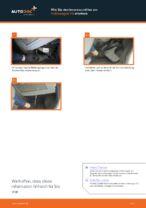 Innenraumfilter VW TOURAN | PDF Wechsel Tutorial