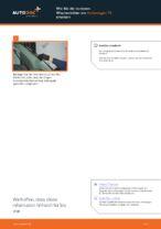 Montage Wischblattsatz VW TRANSPORTER V Platform/Chassis (7JD, 7JE, 7JL, 7JY, 7JZ, 7FD - Schritt für Schritt Anleitung