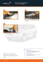 Luftfilter wechseln VOLVO XC90: Werkstatthandbuch