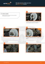 Wie Sie die hintere Bremsscheibe am BMW 3 E36 ersetzen