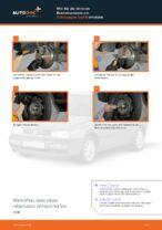 Wie Sie die hinteren Bremstrommeln am Volkswagen Golf III ersetzen