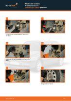 Wie Sie die vordere Bremsscheibe am Volkswagen Golf III ersetzen