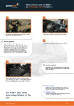 Wie Motorölfilter VW GOLF tauschen und einstellen: PDF-Tutorial