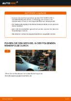 Wie Halter, Stabilisatorlagerung beim FIAT PUNTO (188) wechseln - Handbuch online
